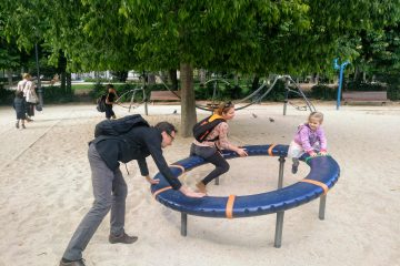 Park Retiro s deťmi je zábava