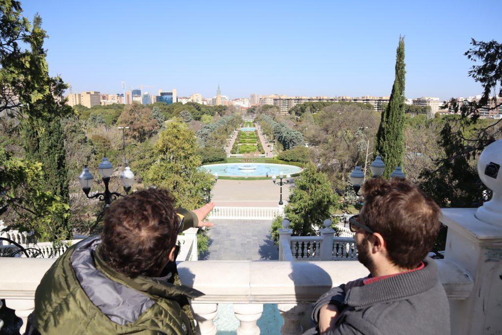 Mestský park v meste Zaragoza