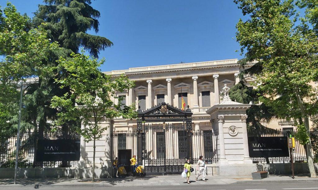 národné archeologické múzeum v Madride