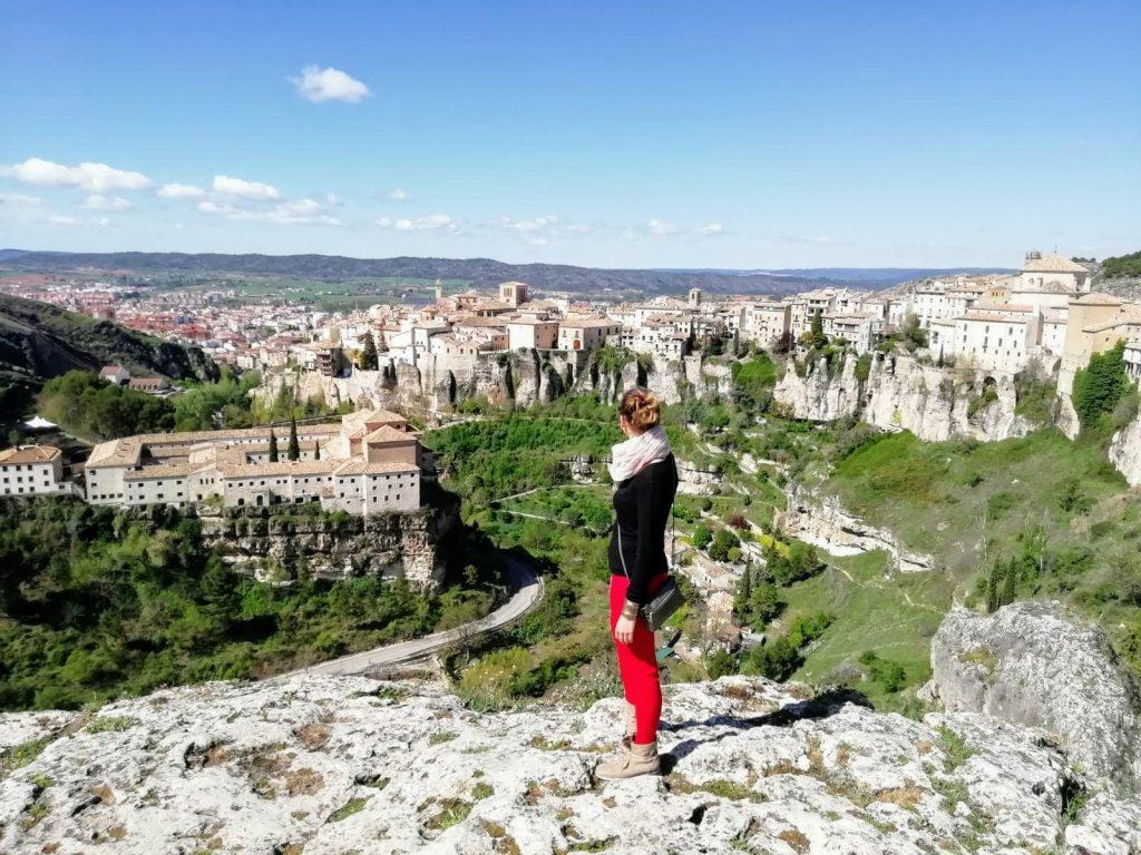 výhľad na mesto Cuenca