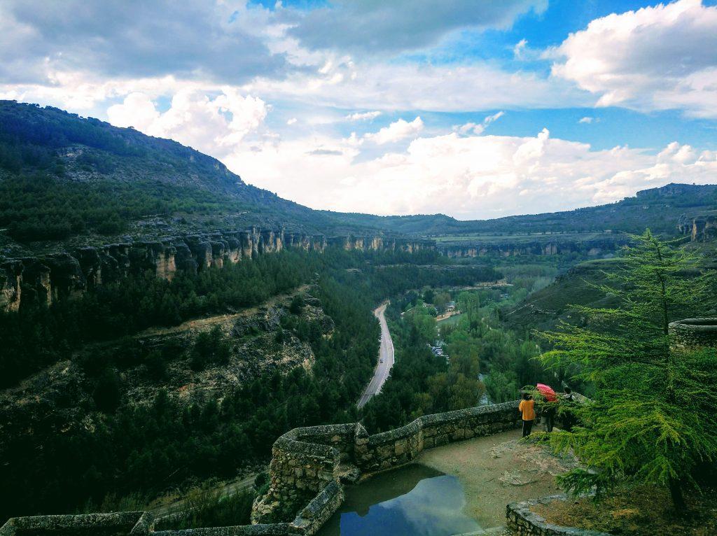 Rieka v meste Cuenca