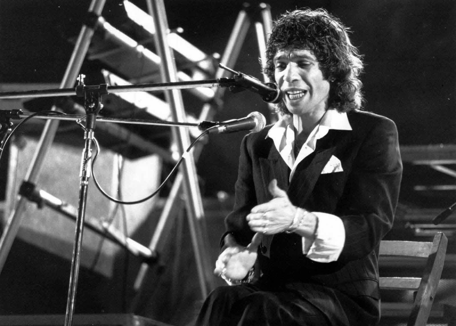 najznámejší flamenko spevák Camaron