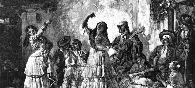 flamenko v minulosti