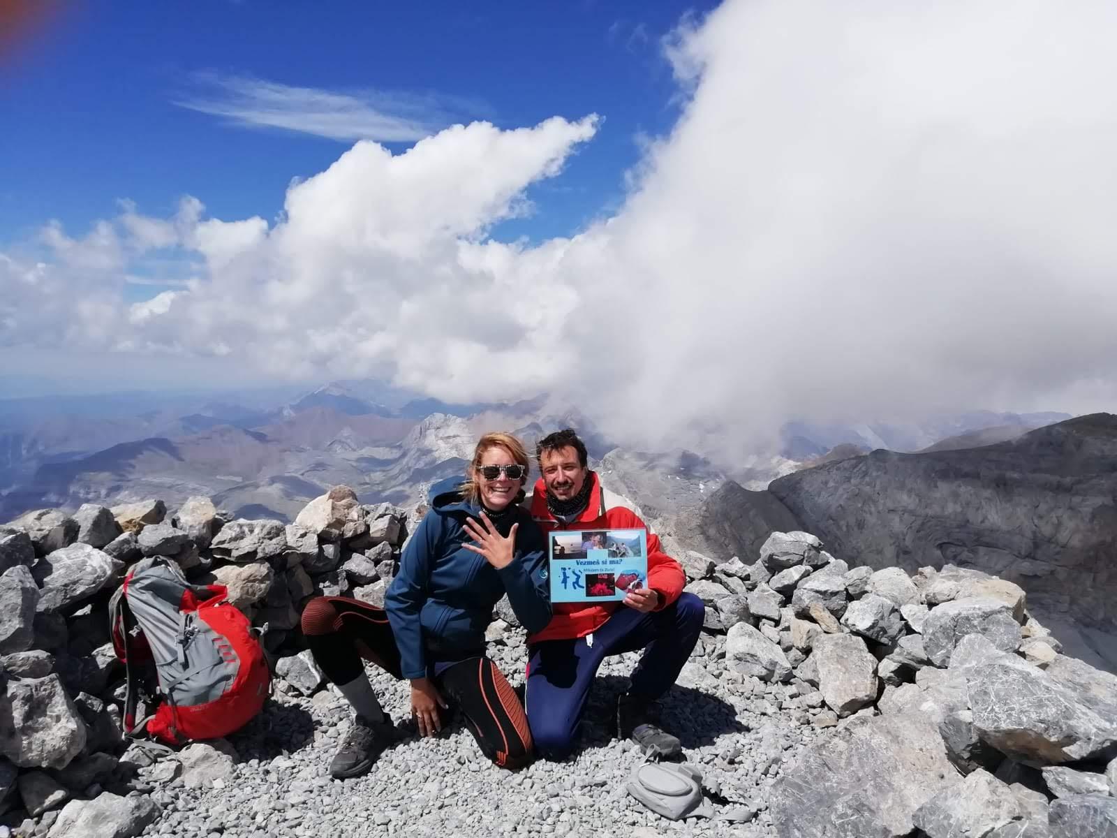Na vrchole Monte Perdido