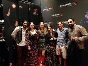 Fotka s umelcami flamenca v madridskom tablao