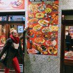 Plagát s jedlom z rôznych častí španielska
