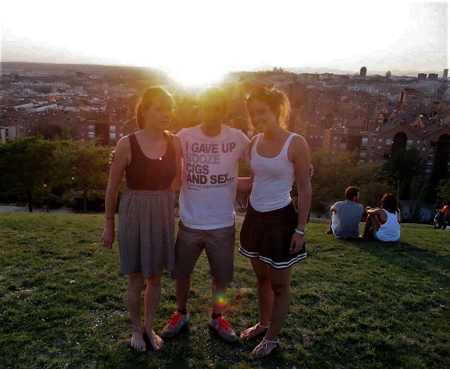 západ slnka v parku Las Tetas