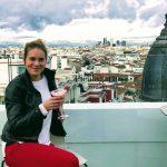 Drink v rooftop bare Picalagartos v Madride