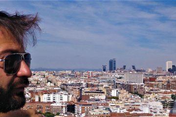 Výhľad na celý Madrid z terasy hotela Riu