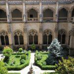 Nádvorie kláštora kráľov v Tolede