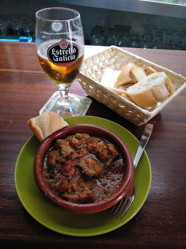 Carcamusas, typické jedlo v Tolede