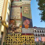 graffiti vo štvrti La Latina
