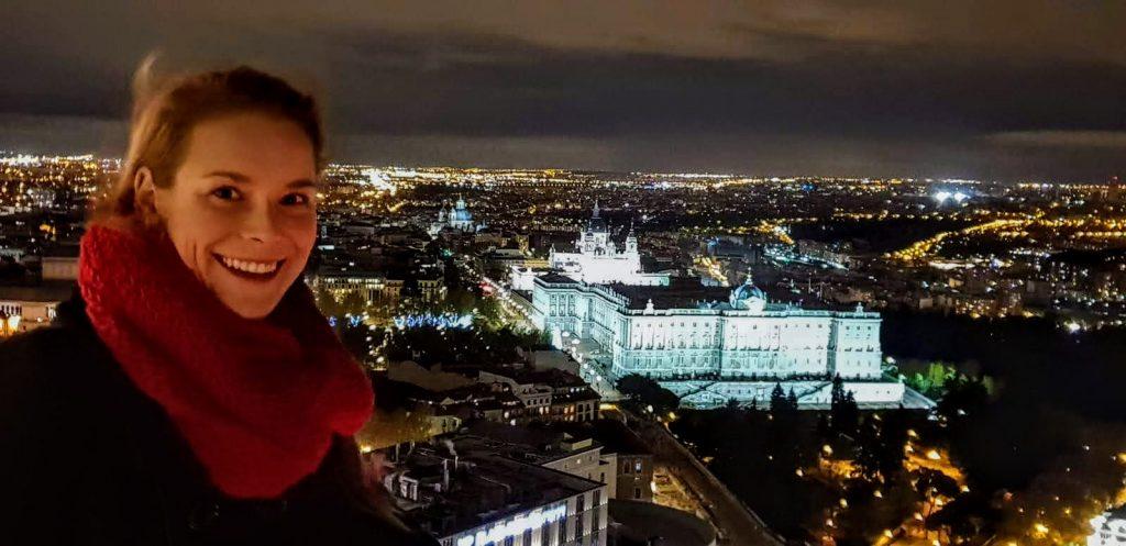 výhľad na Madrid z hotela Riu, ktorý patrí medzi najlepšie rooftop bary v Madride