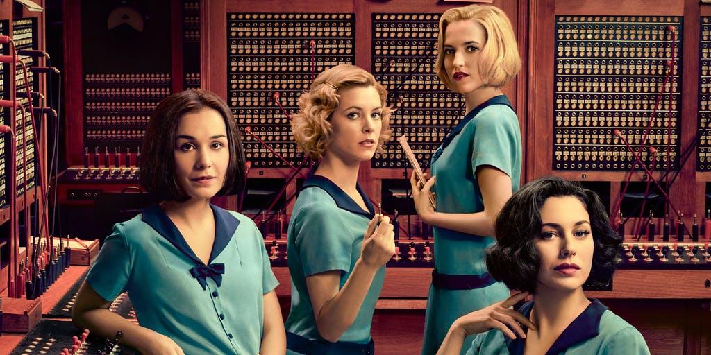 španielsky seriál chicas del cable