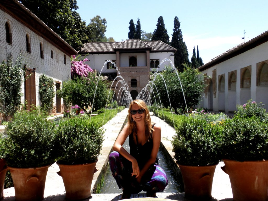 počas intenzivneho kurzu španielčiny v Malage som bola na výlete v Granade