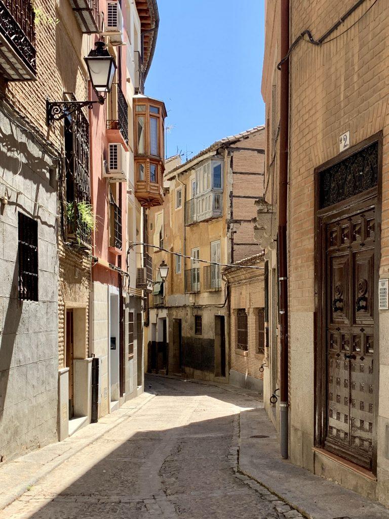 Toledo je plné krásnych uličiek