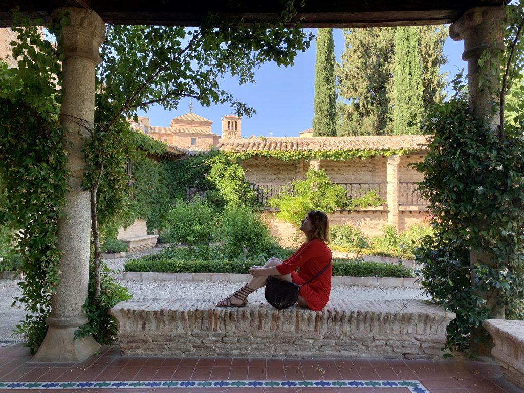 záhrady v múzeu Greco v Tolede stoja za návštevu