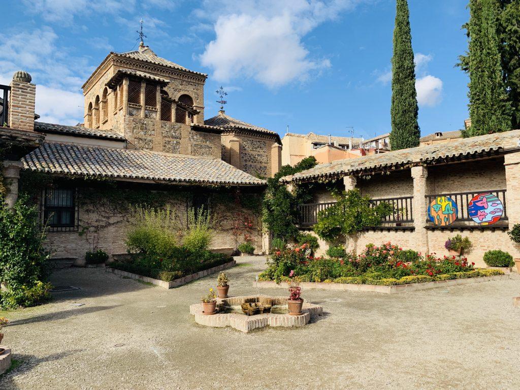 múzeum Greco v Tolede má krásne záhrady