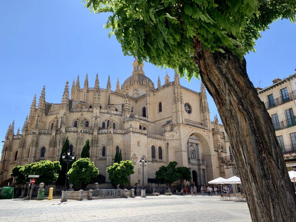 katedrála v Segovii