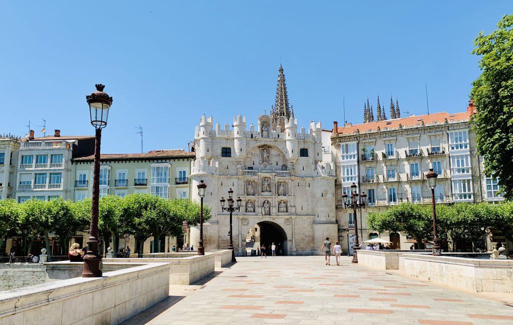 Brána Santa María, Burgos