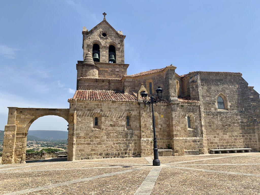 románsky kostol San Vicente, Frías, Španielsko