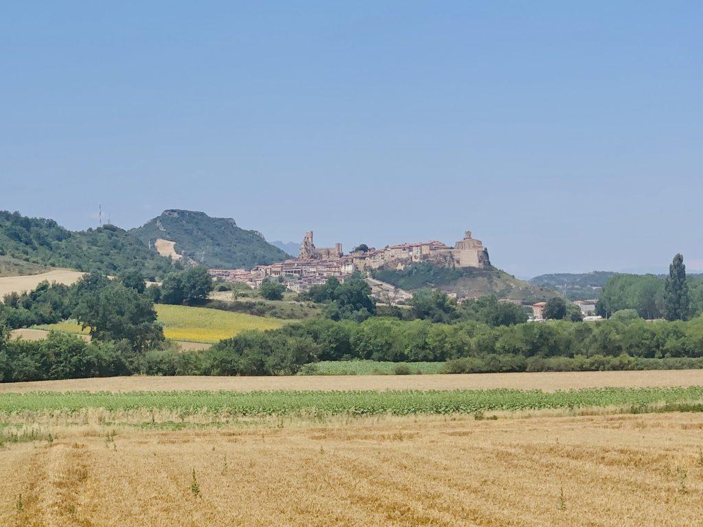 Dedinka Frías z diaľky, Španielsko