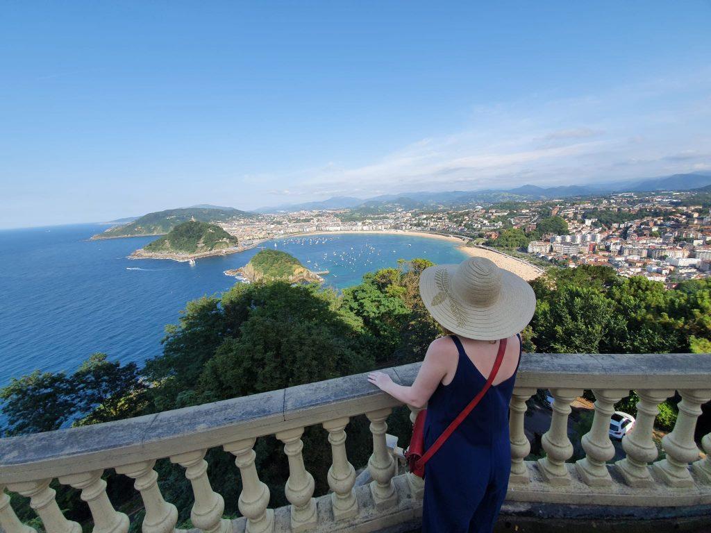 Výhľad z Monte Igeldo, San Sebastián, Baskicko