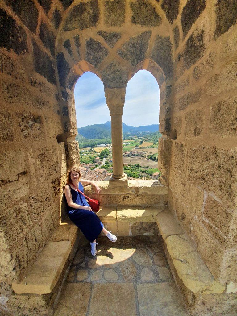 Vo veži hradu Frías, Španielsko