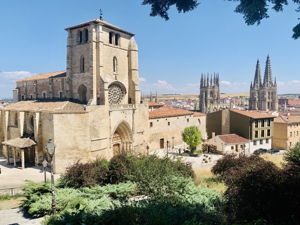 Kostol San Esteban cesto na hrad, Burgos