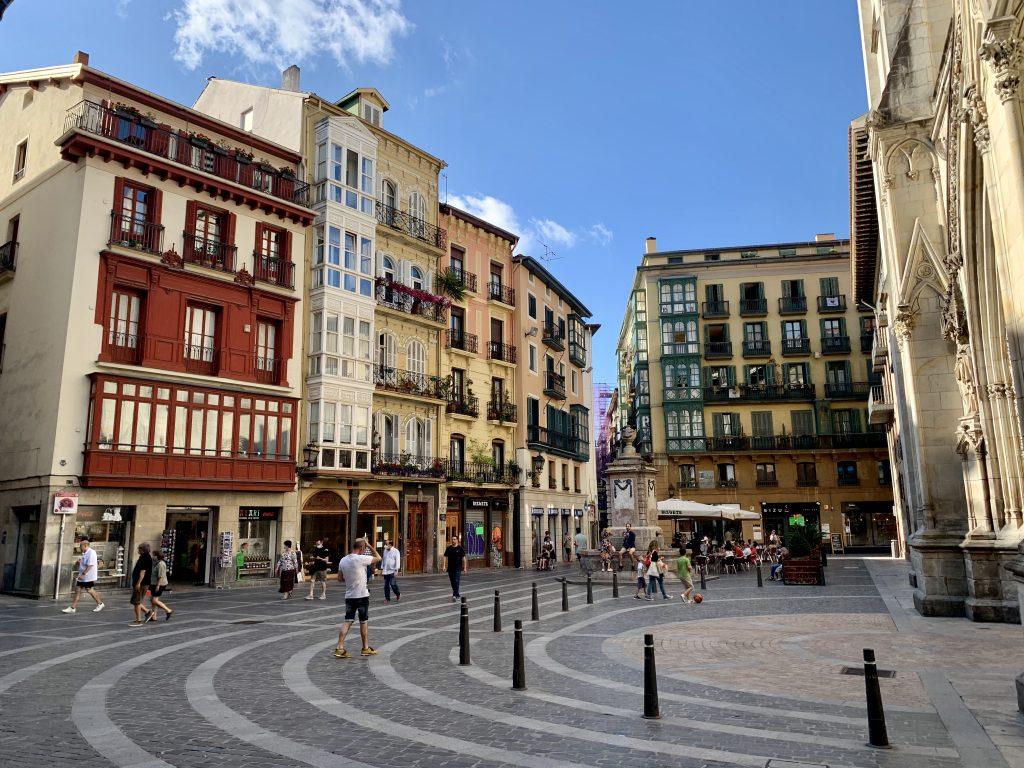 Casco viejo – staré mesto v Bilbau
