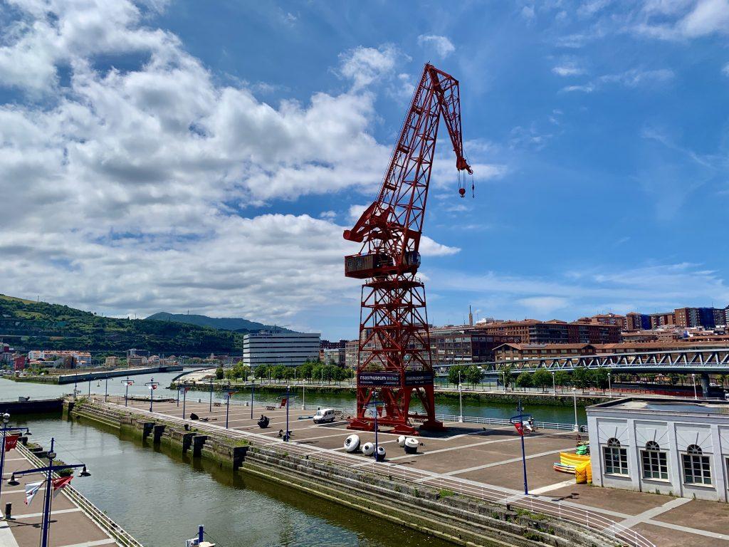 Žeriav Carola, Bilbao