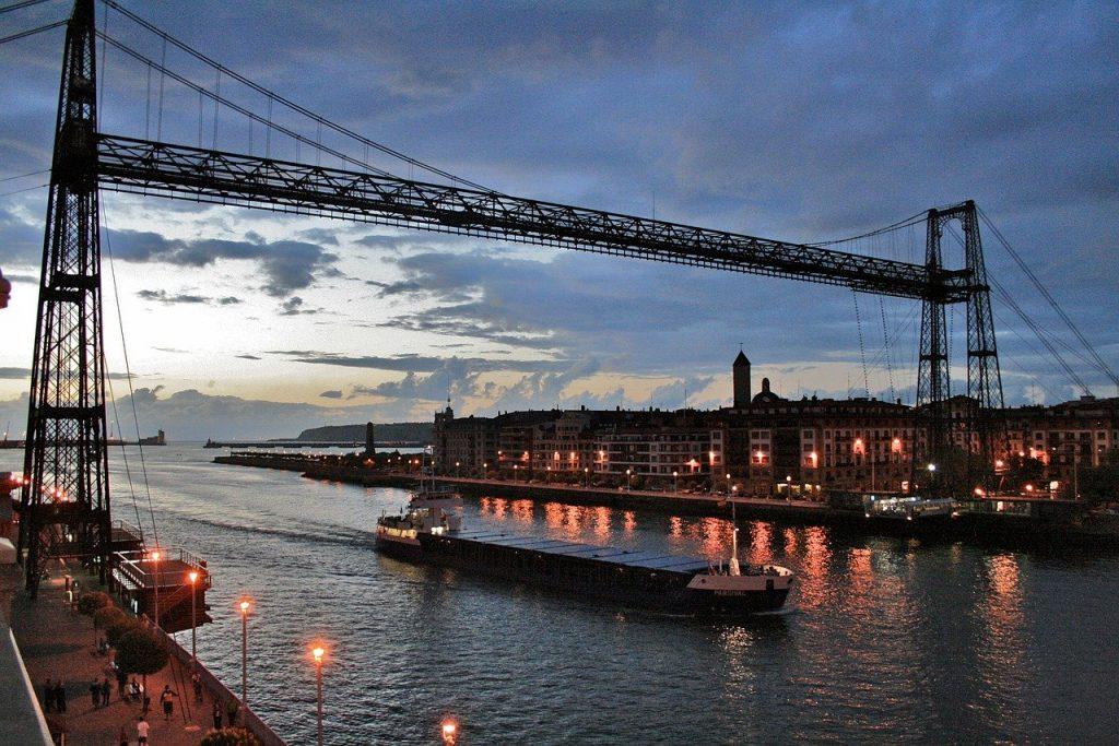Visutý most Bizkaia